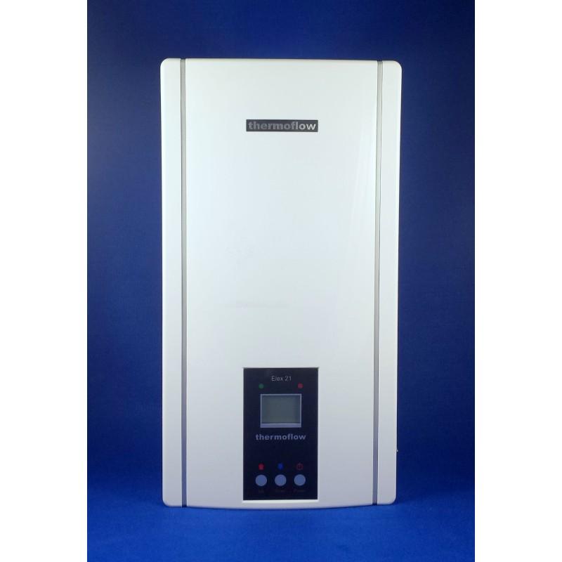 thermoflow elex 21 lcd elektronisch geregelter durchlauferhitzer 21kw 400v porsch heiztechnik. Black Bedroom Furniture Sets. Home Design Ideas